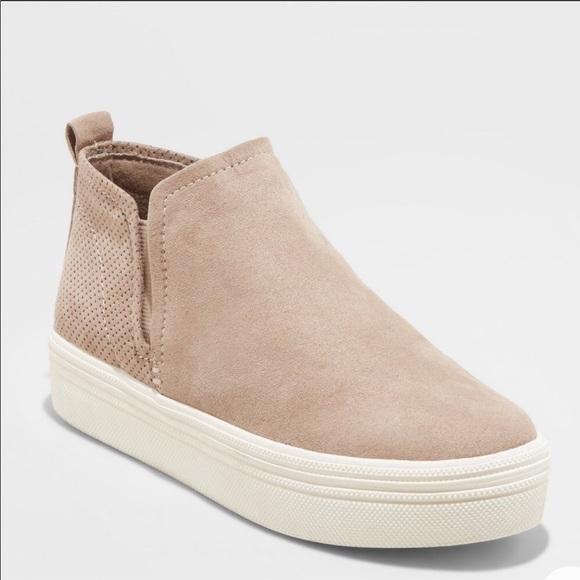 Suede Bootie Sneakers   Poshmark